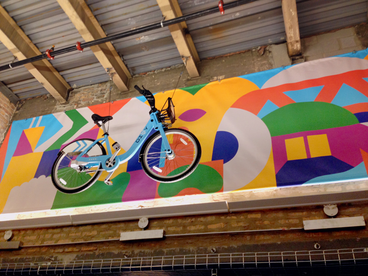 The studio of chad kouri chicago icons mural ideo for Ideo chicago