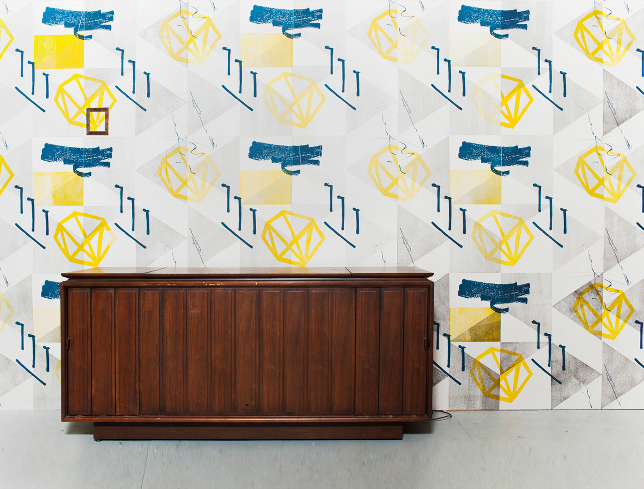 Jazz Wallpaper Installation – Johalla Projects