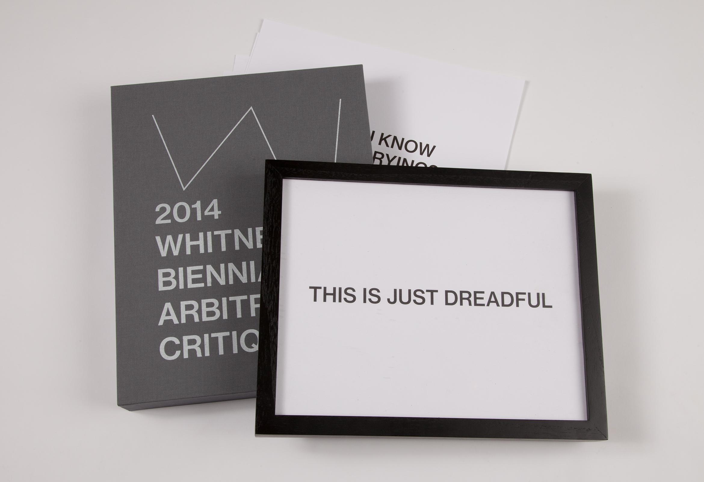 chadkouri-whitneybiennialarbitrarycritiques-boxframeandposters