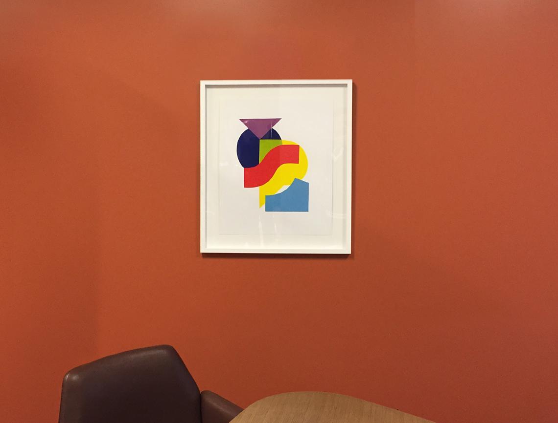 Haworth Showroom Art Loan –Neocon Chicago